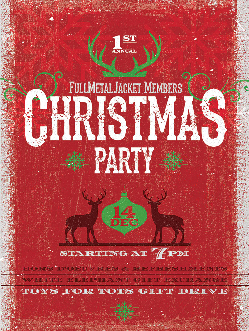 FMJ Holiday Party @ Governors Gun Club | Powder Springs | Georgia | United States