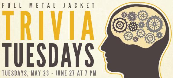 Full Metal Jacket Trivia Tuesdays @ Governors Gun Club | Powder Springs | Georgia | United States