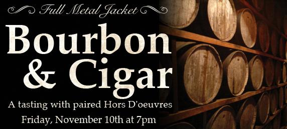 Full Metal Jacket Bourbon & Cigar Tasting @ Governors Gun Club   Powder Springs   Georgia   United States