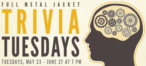 Full Metal Jacket Trivia Tuesdays @ Governors Gun Club | Powder Springs | Georgia | United States