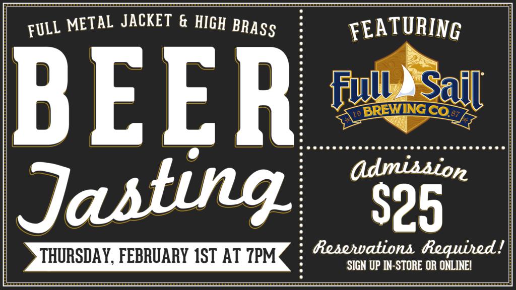 Full Metal Jacket & High Brass Beer Tasting @ Governors Gun Club | Powder Springs | Georgia | United States