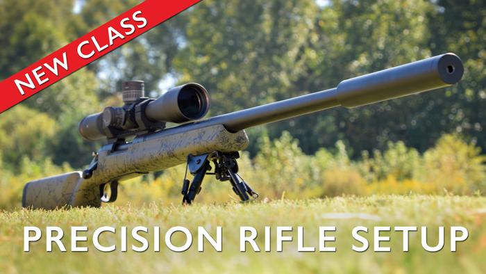 Precision Rifle Setup @ Governors Gun Club Kennesaw