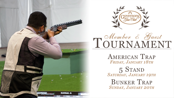 Member & Guest Shotgun Tournament