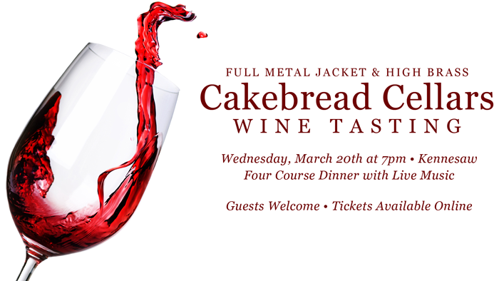 Cakebread Cellars Wine Tasting @ Governors Gun Club Kennesaw