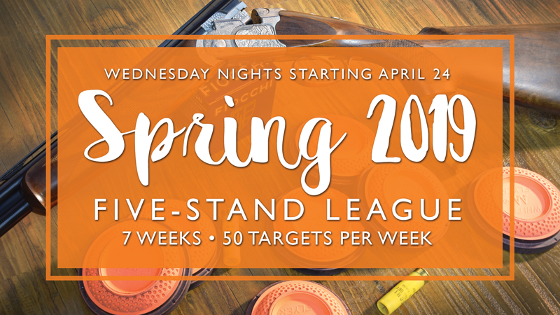 Spring Five-Stand League @ Governors Gun Club Kennesaw