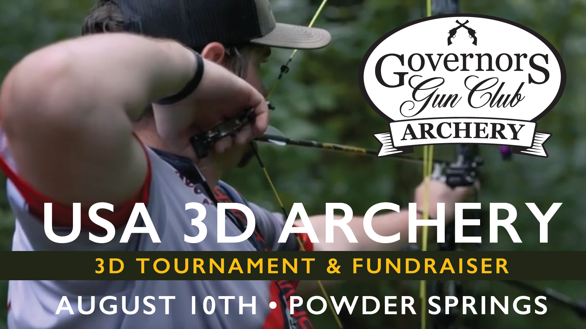 USA 3D Archery Tournament & Fundraiser @ Governors Gun Club Powder Springs