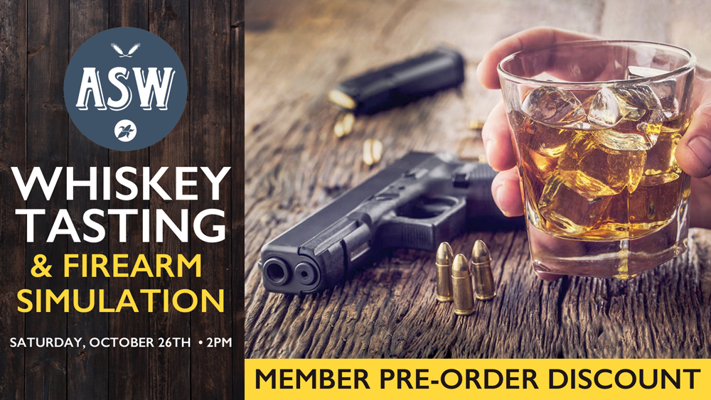ASW Tasting & Firearm Simulation @ Governors Gun Club Kennesaw