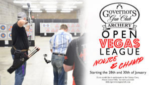Archery Open Vegas League @ Governors Gun Club Kennesaw