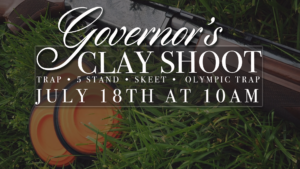 Governor's Clay Shoot @ Governors Gun Club Kennesaw