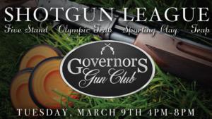 Shotgun League @ Governors Gun Club Kennesaw