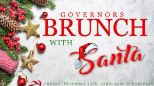 Brunch with Santa @ Governors Gun Club Kennesaw