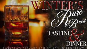 Winter's Rare Breed Tasting and Dinner @ Governors Gun Club Kennesaw