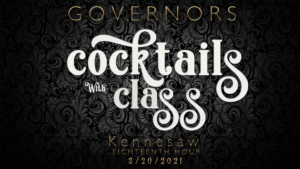Cocktails with Class @ Governors Gun Club Kennesaw